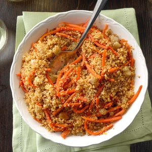 Carrot Raisin Couscous