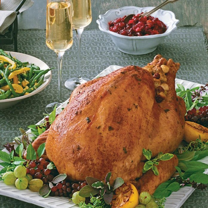 Champagne-Basted Turkey