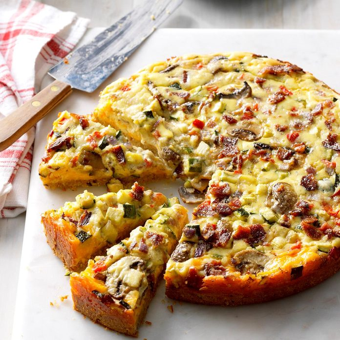 Cheddar-Veggie Appetizer Torte