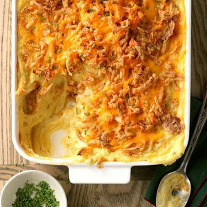 Cheddar and Chive Mashed Potatoes