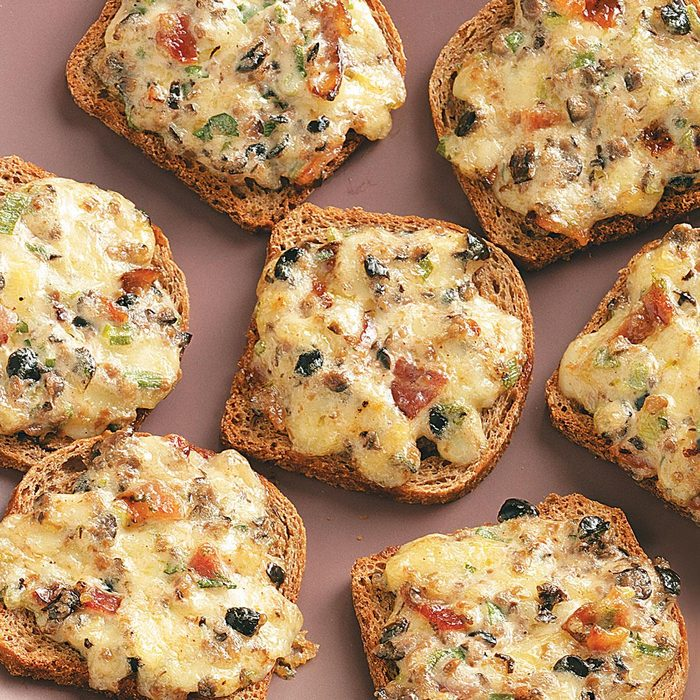 Cheese Rye Appetizers