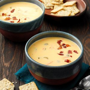 Cheese Soup with a Twist