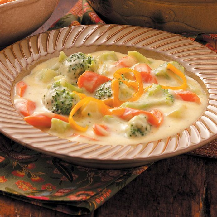 Cheese and Broccoli Soup