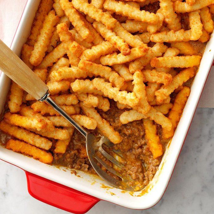 Cheeseburger N Fries Casserole Exps 13x9bz19 7899 E10 05 6b 2