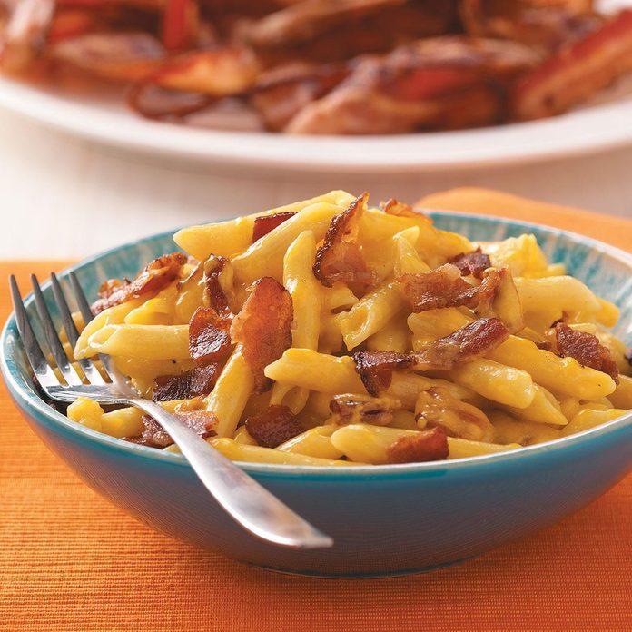 Cheesy Bacon Penne