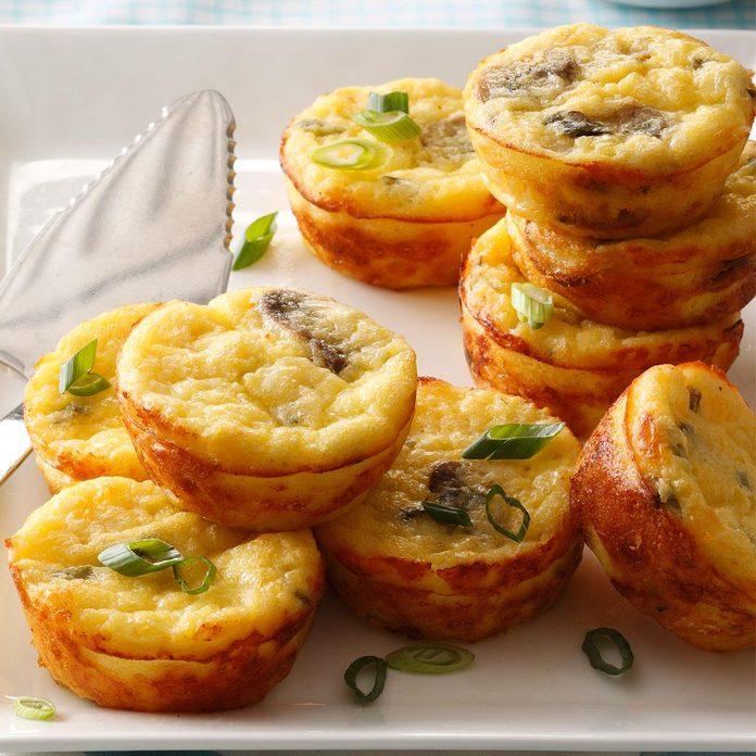 Cheesy Egg Puffs