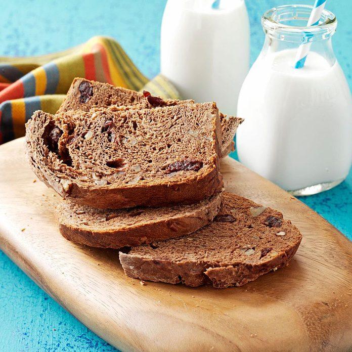 Cherry-Pecan Cocoa Bread