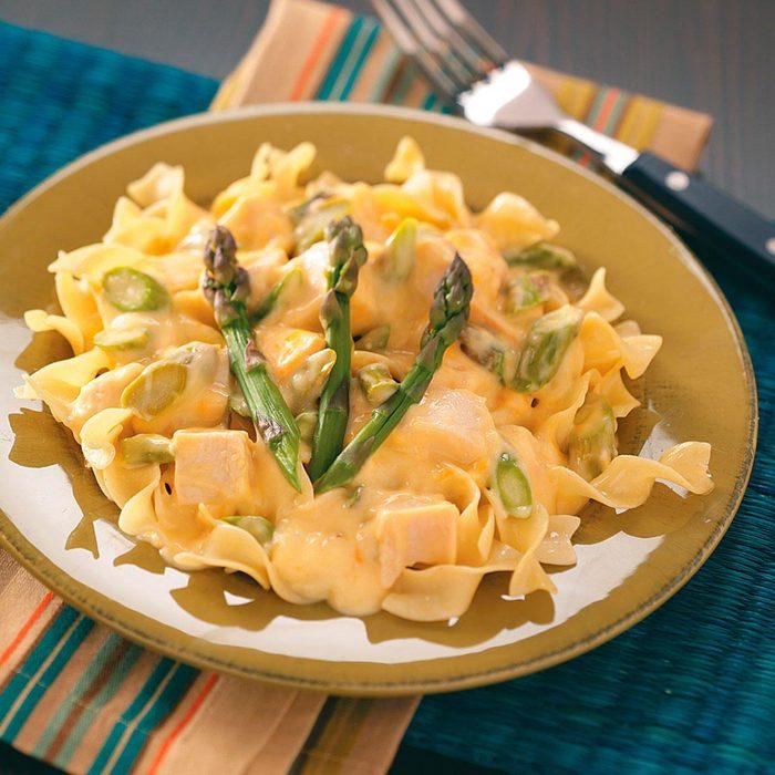 Chicken Asparagus Stroganoff