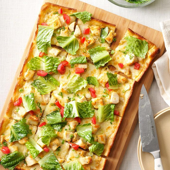 Chicken Caesar Pizza