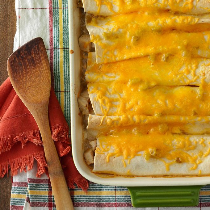 Chicken Enchiladas for Four