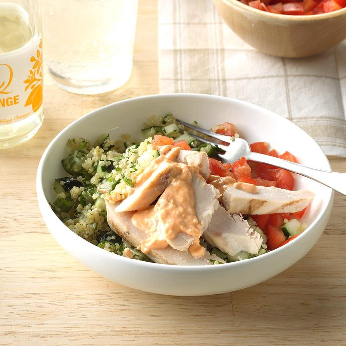 Chicken Quinoa Salad