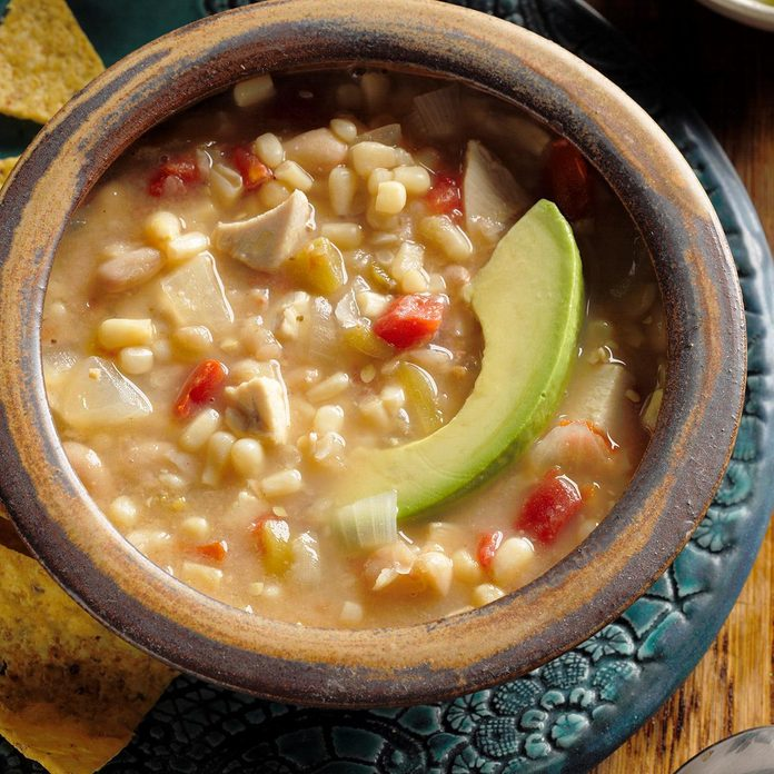 Chicken Soup With Beans Exps Hscb17 22091 B07 26 2b 2