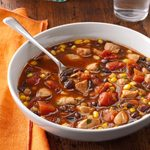 Chicken and Black Bean Soup