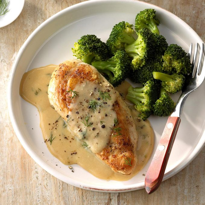 Chicken And Broccoli With Dill Sauce Exps Sdam18 200154 C12 01 4b 6