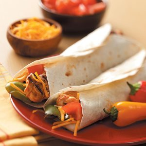 Chipotle Chicken Fajitas