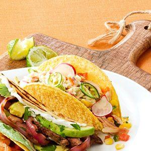 Chipotle Ranch Chicken Tacos