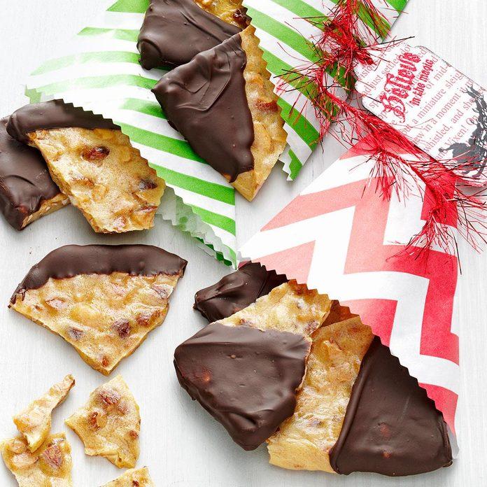 Chocolate Almond Brittle