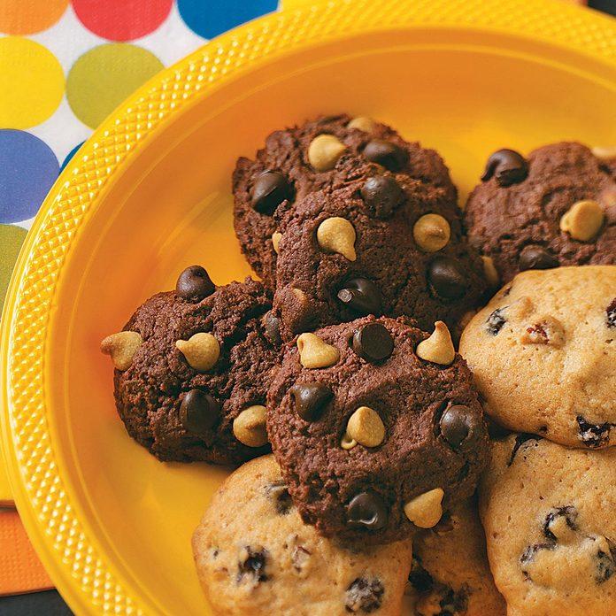 Chocolate Cake Mix Cookies