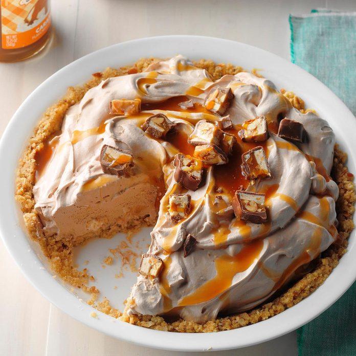 Chocolate Caramel Hazelnut Pie