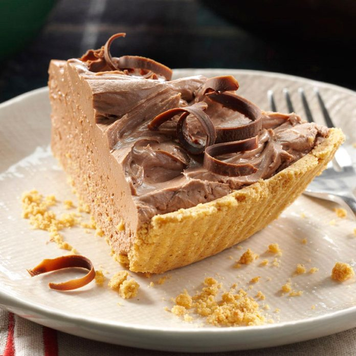 Chocolate Cheesecake Pie