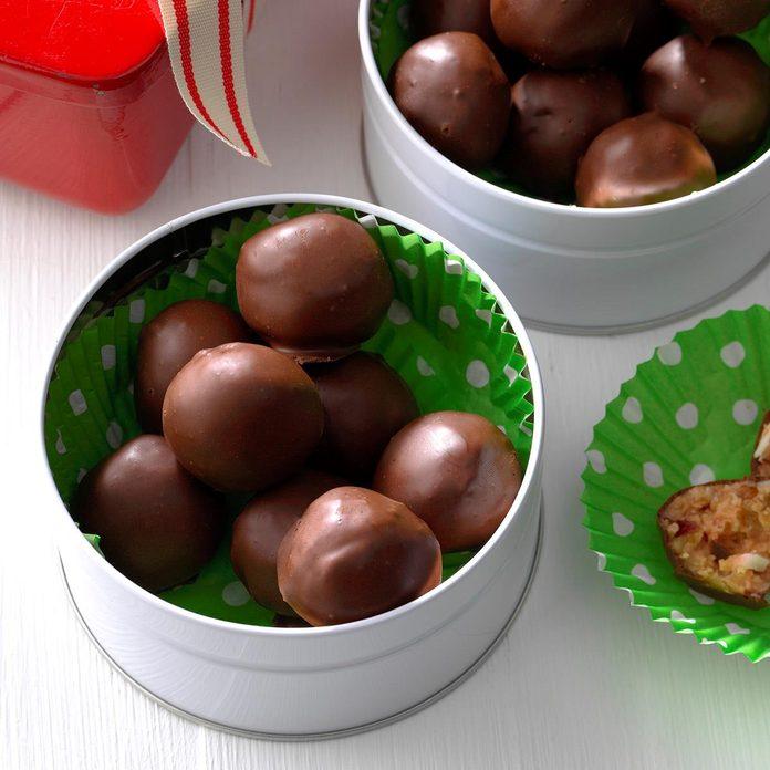 Chocolate Cherry Candies