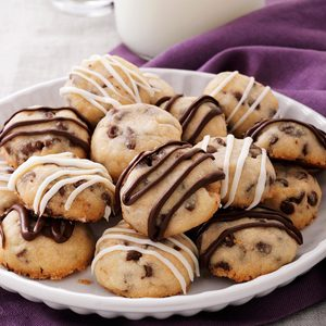 Chocolate Chip Butter Cookies