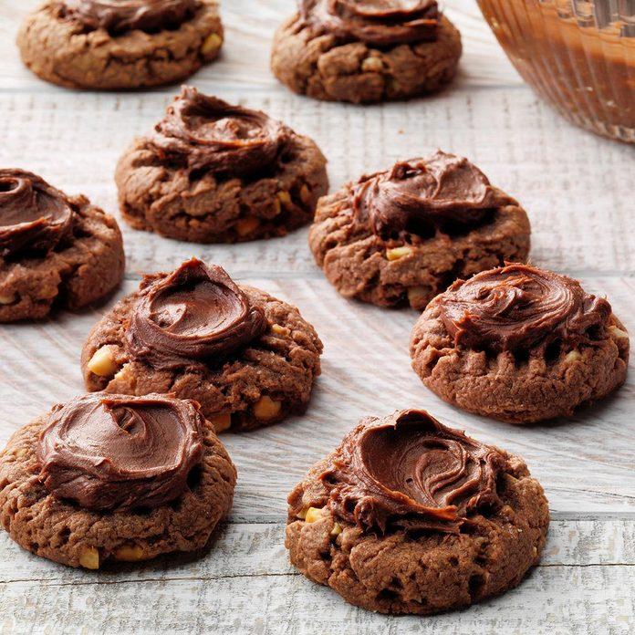 Chocolate Fudge Peanut Butter Cookies