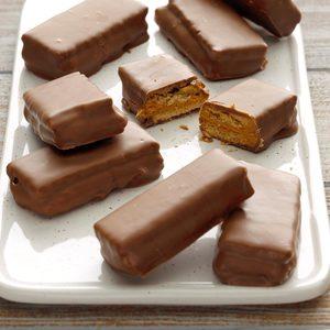 Chocolate Peanut Butter Grahams