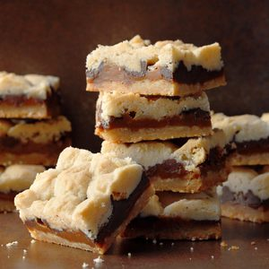 Chocolate Salted Caramel Bars