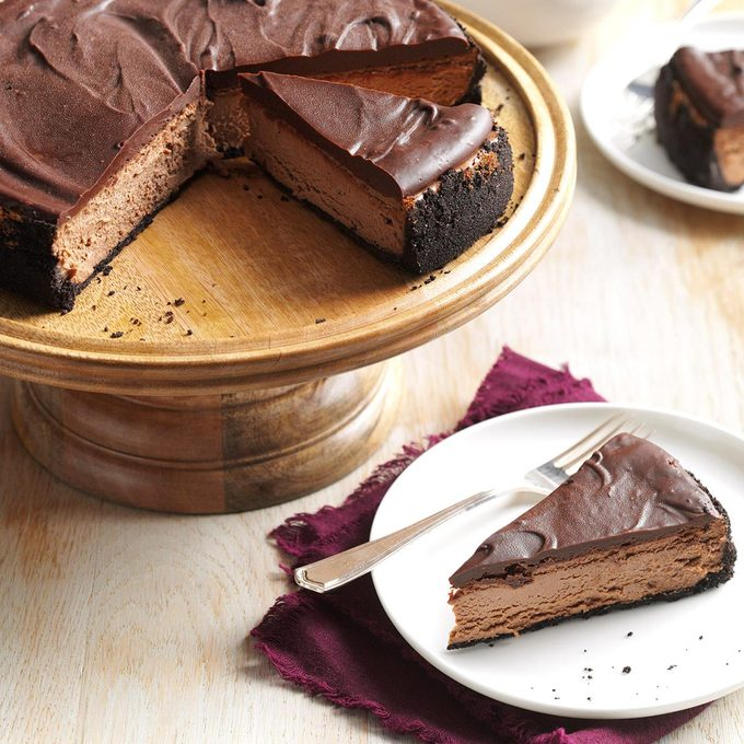 Maine: Chocolate Truffle Cheesecake