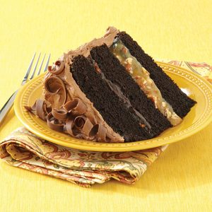 Chocolate Turtle Cake