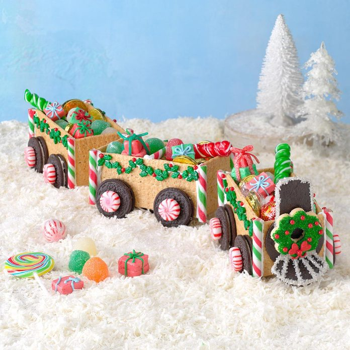 Christmas Candy Train Inspired by The Polar Express
