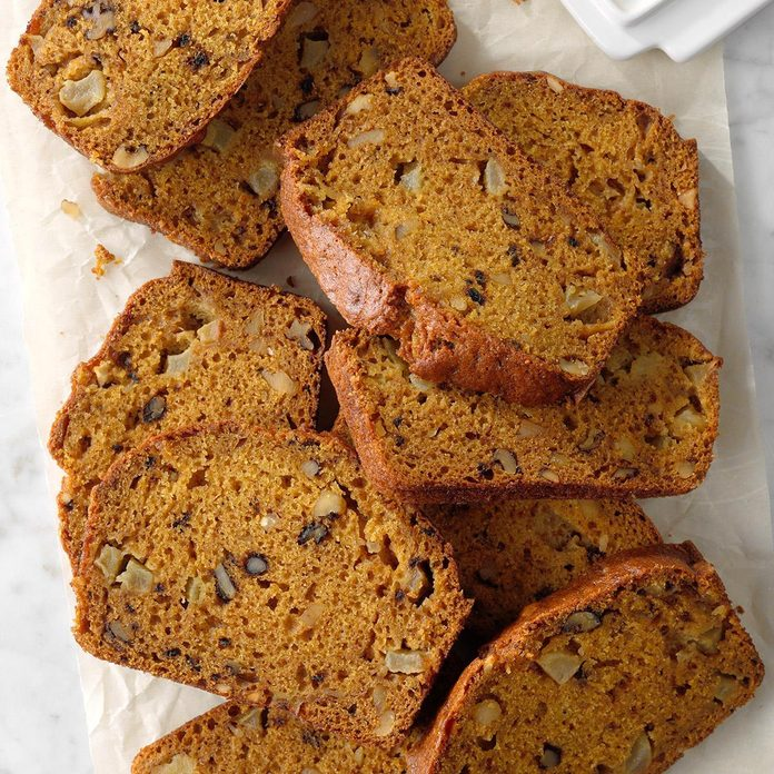 Chunky Apple Pumpkin Bread