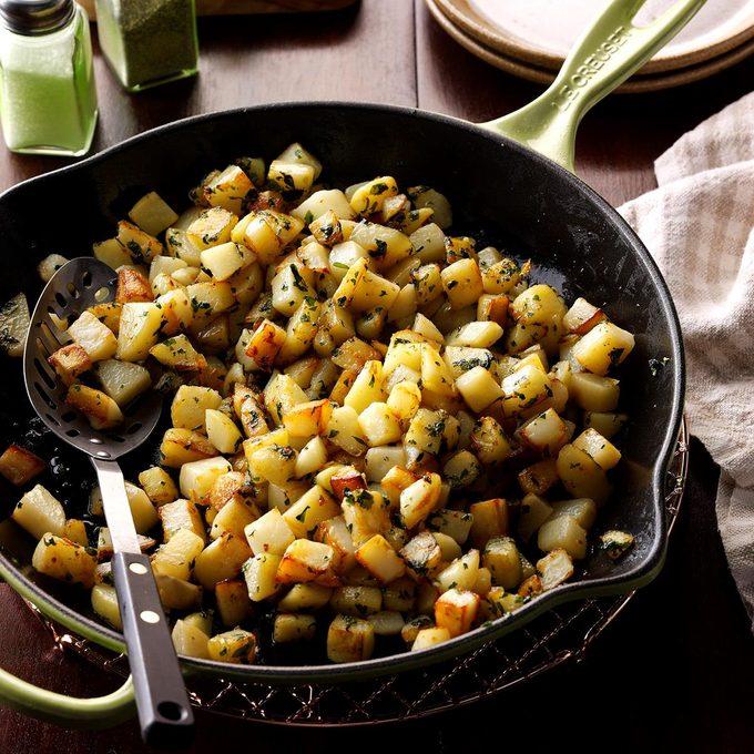Cilantro Potatoes