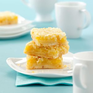 Coconut Citrus Bars
