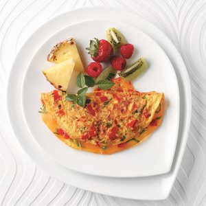 Colorful Cheese Omelet