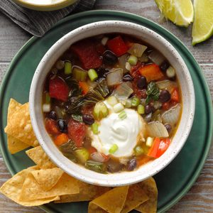 Contest-Winning Black Bean Soup