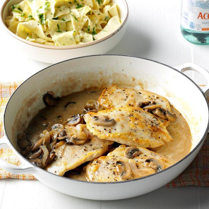 Contest Winning Chicken With Mushroom Sauce Exps Sdon16 24891 D06 08 1b 5