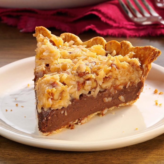 Contest Winning German Chocolate Pie Exps28978 Hc143213b10 30 6bc Rms 5