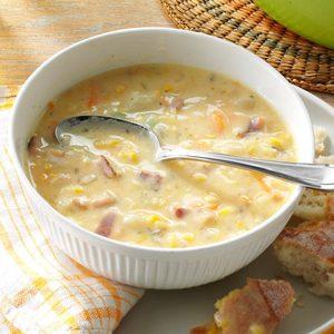 Corn Chowder with Potatoes