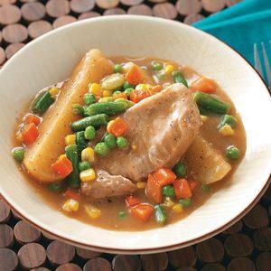 Country Pork Chop Supper