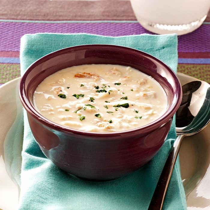 Crab Soup with Sherry