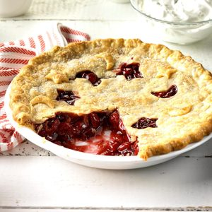 Cranberry-Cherry Nut Pie