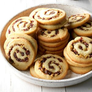 Cranberry Nut Swirls