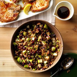 Cranberry-Pecan Wheat Berry Salad