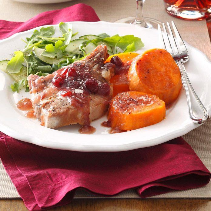 Cranberry Pork & Sweet Potatoes