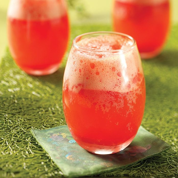 Cranberry Slushie