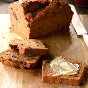 Cranberry Sweet Potato Bread