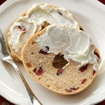 Cranberry Whole Wheat Bagels