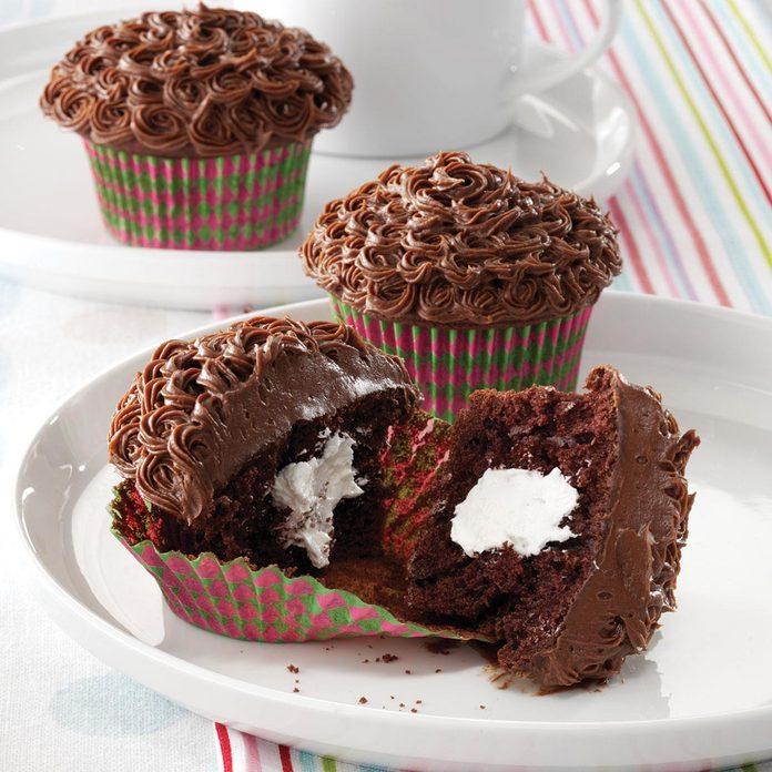 Creamy Center Cupcakes
